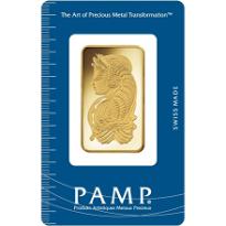 1oz Gold Pamp