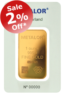 2% OFF Metalor Gold