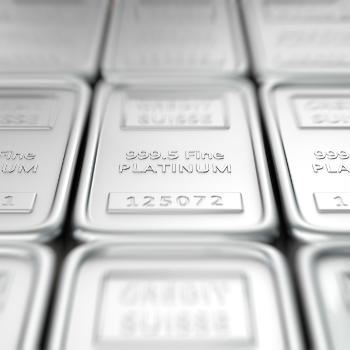 Platinum Investment Bars