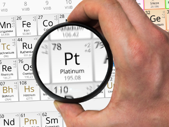 What is the chemical symbol for platinum?