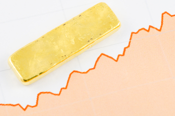 What causes the gold price to fluctuate?