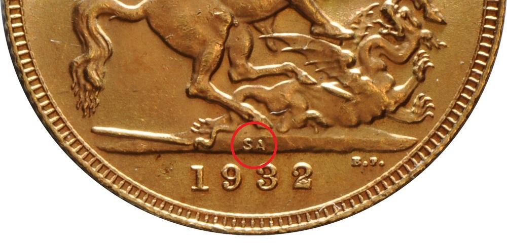 Sovereign Mint Marks | BullionByPost®
