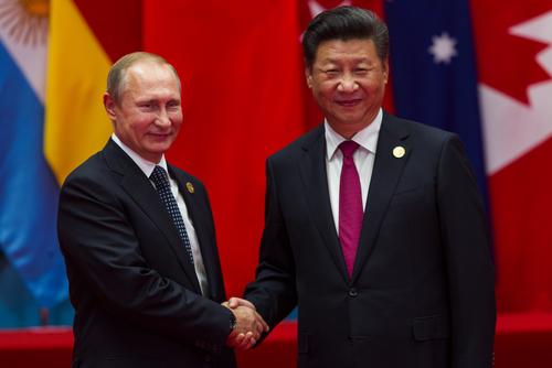 President Putin Xi Jinping