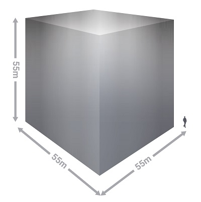 All the silver ever mined, visualised as a cube