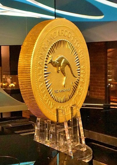 The biggest gold coin in the world