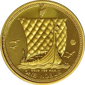 A Pobjoy mint gold noble