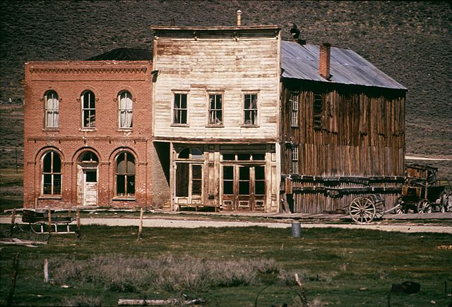 One of America's gold rush ghost towns - Bodie, California.