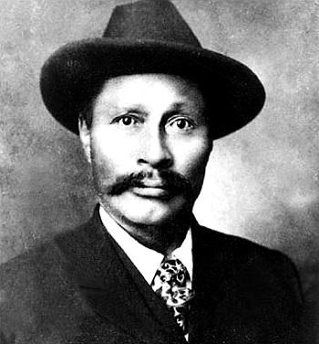 Skookum Jim Mason, one of the four people to begin the Klondike gold rush.