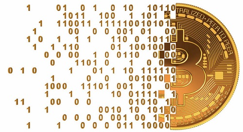 Bitcoin, digital currency.
