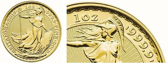 Real gold, coin markings.