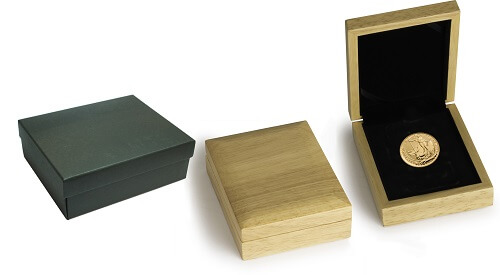 Gift box options for gold investment gifts