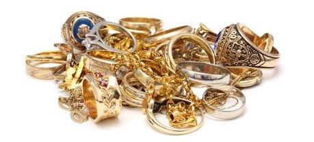 Scrap jewellery.