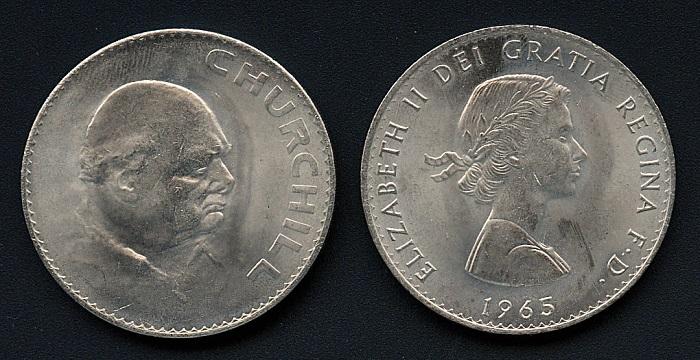Commemorative Churchill Crown coin