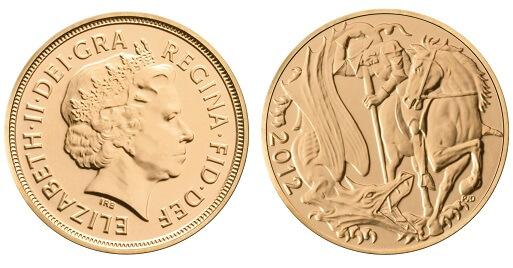 Commemorative 2012 Double Sovereign