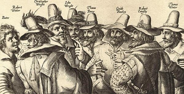 The Gunpowder Plot conspirators.