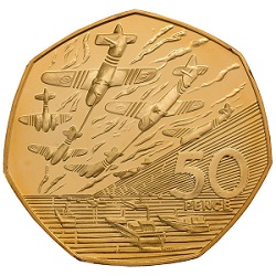 D-Day Landings commemorative 50p.