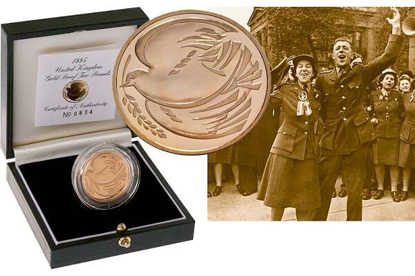 1995 World War II £2 coin.