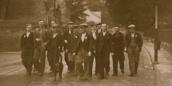 The Jarrow March in 1936.