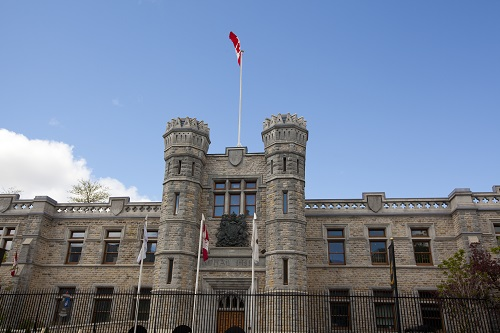 The Royal Canadian Mint building in Ottawa.