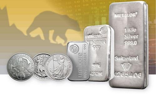 Silver recession graphic.