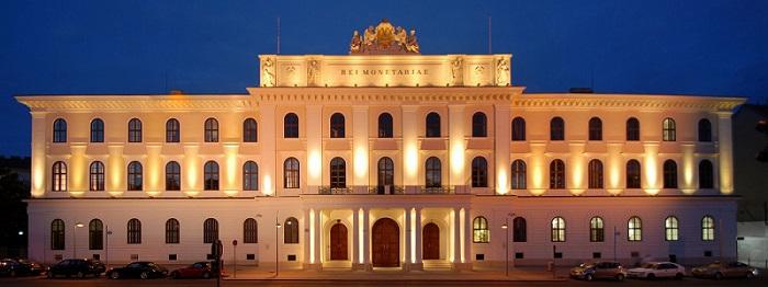 The Austrian Mint building in Vienna.