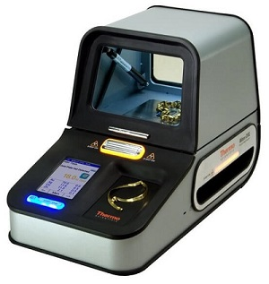 An XRF Machine - one of the best ways to tell if something is silver