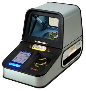 A counter-top gold assay XRF machine.