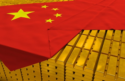 China gold reserves graphic.