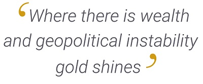 Gold quote.