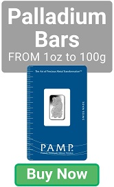 PAMP Suisse Palladium Bars - Buy Now!