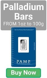 PAMP Suisse Palladium Bars - Buy Now!