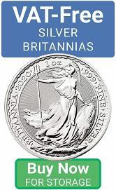 VAT-Free Silver Britannias