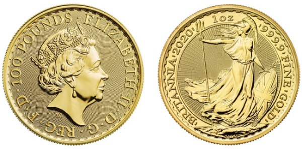 Gold Britannia Face Value