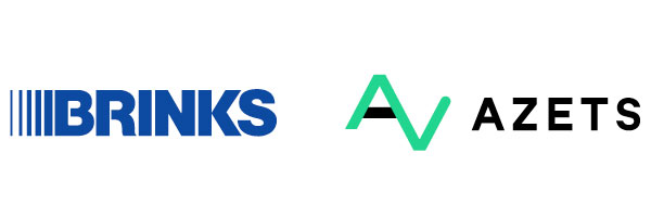 Brinks Azets Logos